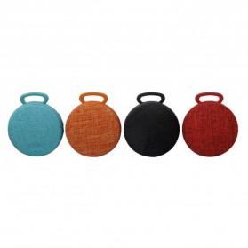 Mini Bluetooth Speaker Fabric - Black - 3