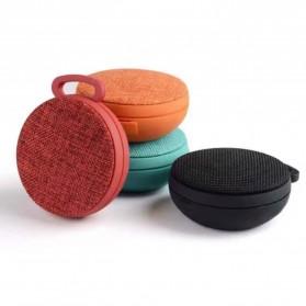Mini Bluetooth Speaker Fabric - Black - 5