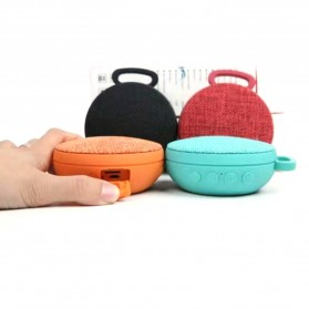Mini Bluetooth Speaker Fabric - Black - 6