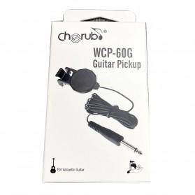 Cherub Gitar Clip-on Pickup - WCP-60G - Black - 11