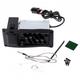 Preamp Amplifier Gitar EQ Tuner - EQ-7545R - Black - 5