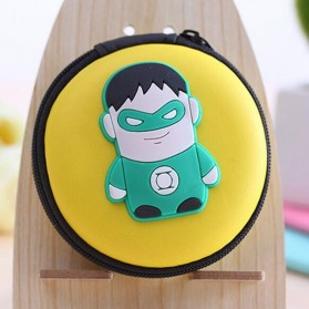 Case Mini Earphone Model Green Lantern - C739
