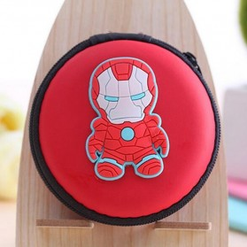 Case Mini Earphone Model Iron Man - C739