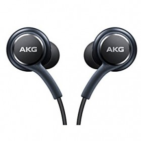 Earphone Headset Samsung S8 by AKG (OEM) - Black - 4