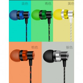 HEADSET Super Bass HiFi Stereo Earphone Sporty - JL-032 / ASG-K02 / JL-034 - Black - 2