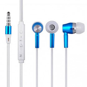 Briame Earphone Luminous Glow In The Dark - Blue