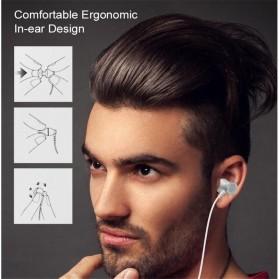 Metal Earphone Stereo Magnetic dengan Microphone - T07 - Pink - 6