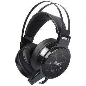 Salar C13 Pro Gaming Headset RGB LED Light - C13 - Black - 2
