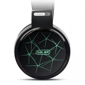 Salar C13 Pro Gaming Headset RGB LED Light - C13 - Black - 3