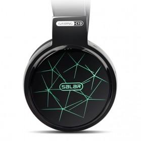 Salar C13 Pro Gaming Headset RGB LED Light - C13 - Brown - 3