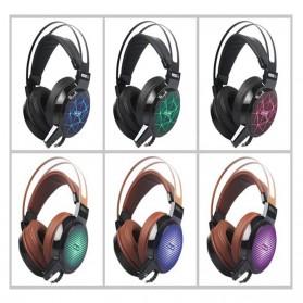 Salar C13 Pro Gaming Headset RGB LED Light - C13 - Brown - 5
