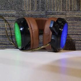 Salar C13 Pro Gaming Headset RGB LED Light - C13 - Brown - 7