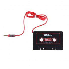 Car Digit Konverter Kaset Tape Mobil ke 3.5mm AUX - W800 - Black - 2