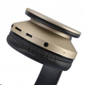 SSDFLY Bluetooth Headphone TF Card FM Receiver with Mic - BH-811 - Black - 2