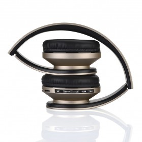SSDFLY Bluetooth Headphone TF Card FM Receiver with Mic - BH-811 - Black - 3