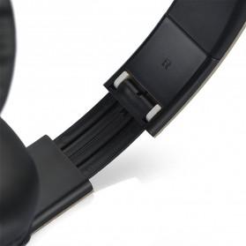 SSDFLY Bluetooth Headphone TF Card FM Receiver with Mic - BH-811 - Black - 5