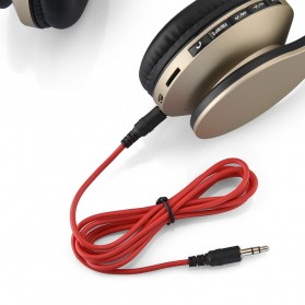 SSDFLY Bluetooth Headphone TF Card FM Receiver with Mic - BH-811 - Black - 9