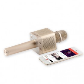 MicGeek Mic Karaoke Speaker Bluetooth - Q10S - Golden - 4