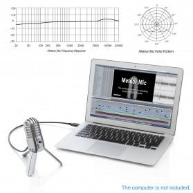 Samson Meteor Microphone Kondenser Studio - Silver - 2