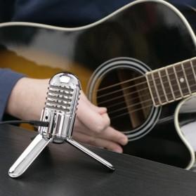 Samson Meteor Microphone Kondenser Studio - Silver - 3