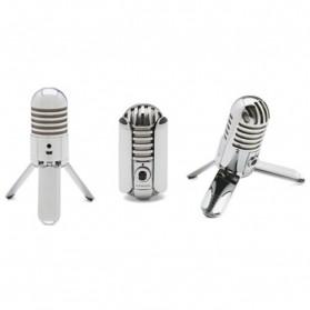 Samson Meteor Microphone Kondenser Studio - Silver - 8