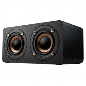 ANSUOFU Desktop Bluetooth Speaker Stereo Subwoofer - W5 - Black