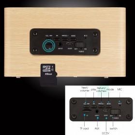 ANSUOFU Desktop Bluetooth Speaker Stereo Subwoofer - W5 - Black - 5