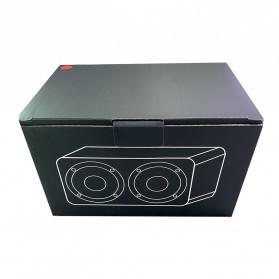 ANSUOFU Desktop Bluetooth Speaker Stereo Subwoofer - W5 - Black - 7