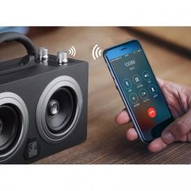 Boombox HiFi Bluetooth Loudspeaker Stereo High Power 20W - M8 - Black - 3