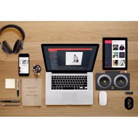 Boombox HiFi Bluetooth Loudspeaker Stereo High Power 20W - M8 - Black - 5