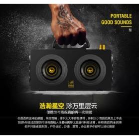 Boombox HiFi Bluetooth Loudspeaker Stereo High Power 20W - M8 - Black - 8