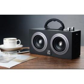 Boombox HiFi Bluetooth Loudspeaker Stereo High Power 20W - M8 - Black - 9