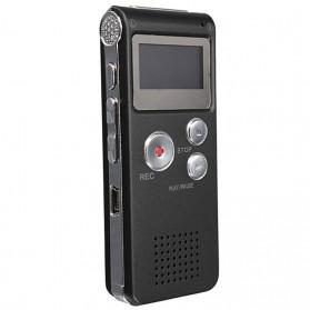 Perekam Suara Digital Voice Recorder 8GB - R29 - Black - 1