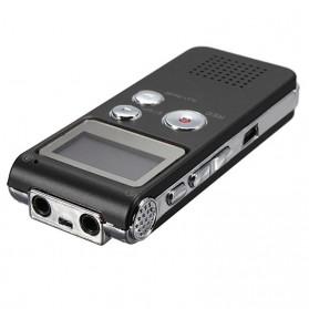 Perekam Suara Digital Voice Recorder 8GB - R29 - Black - 3