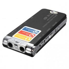 Perekam Suara Digital Voice Recorder 8GB - R29 - Black - 4
