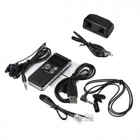 Perekam Suara Digital Voice Recorder 8GB - R29 - Black - 5