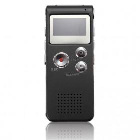 Perekam Suara Digital Voice Recorder 8GB - R29 - Black - 6