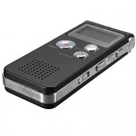 Perekam Suara Digital Voice Recorder 8GB - R29 - Black - 7
