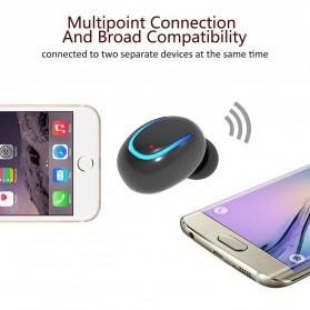 Micro Sport Bluetooth Earphone - Mini Q13 - Black - 3