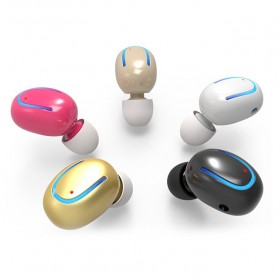 Micro Sport Bluetooth Earphone - Mini Q13 - Black - 7