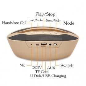 Portable Bluetooth Speaker Hi-Fi Smartphone Holder - BZ-B32 - Black - 2
