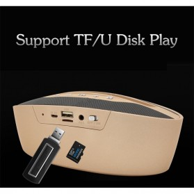 Portable Bluetooth Speaker Hi-Fi Smartphone Holder - BZ-B32 - Black - 3