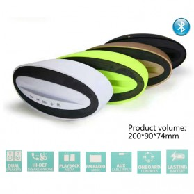 Portable Bluetooth Speaker Hi-Fi Smartphone Holder - BZ-B32 - Black - 5