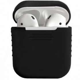 GerTong Silicone Case for AirPods 1 & 2 Charging Dock - 40800 - Black - 1