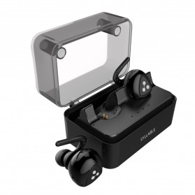 SYLLABLE D900MINI True Wireless Bluetooth Earphone with Charging Dock - Black - 4