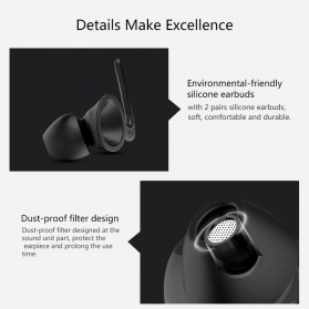 SYLLABLE D900MINI True Wireless Bluetooth Earphone with Charging Dock - Black - 7