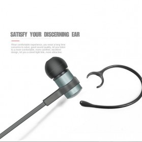 Upcoming Earphone Bluetooth Sport - S6-1 - Black - 3