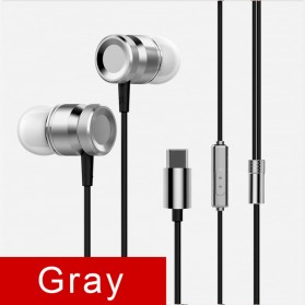 Earphone - Earphone USB Type C with Mic for LeTV Smartphone - Gray