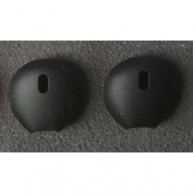 Silicon Earpad for Apple Earpod / Airpod 1 & 2 - 4 PAIR - Black