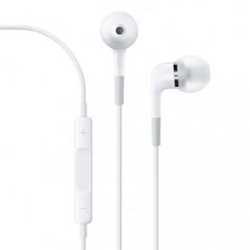 Apple In Earphone with Mic (Replika 1:1) - White - 2